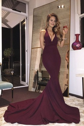 d4fdaca8927 Burgundy Special Occasion Dresses and Wine Formal Gowns - Promfy.com