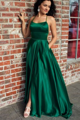 85188c3a8a7 Emerald Green Special Occasion Dresses and Formal Gowns - Promfy.com