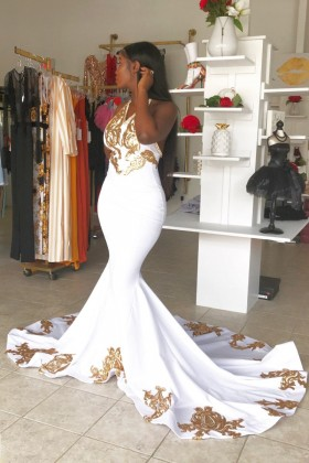 African American Special Occasion Dresses Promfy,Plus Size Wedding Dress Short Length