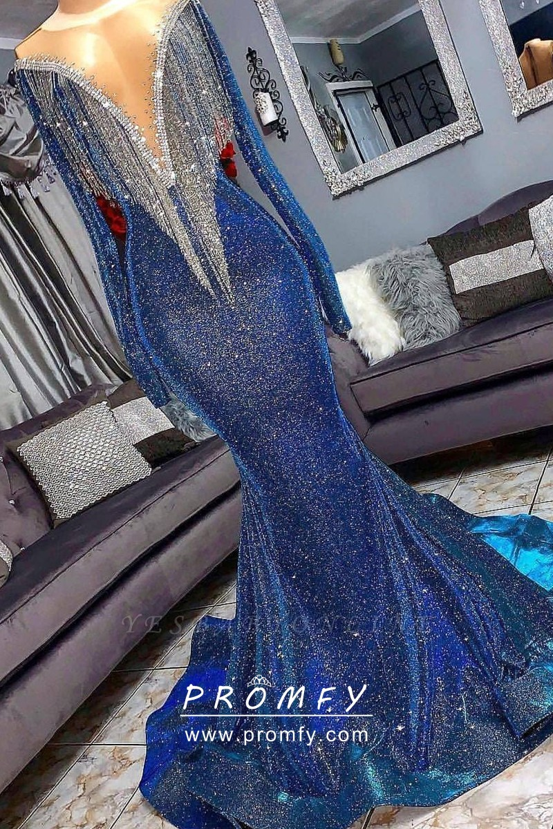 Emerald Green Lace V-neck Long Prom Dress Formal Pageant Evening Gown Custom All