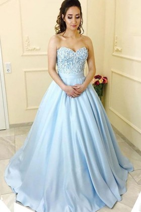 Puffy Special Occasion Dresses Formal Gowns Promfy